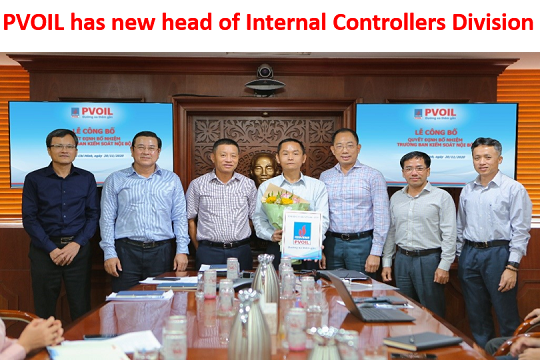 PVOIL has new head of Internal Controllers Division
