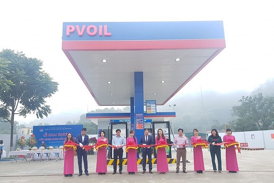 PVOIL opens Phu Thanh petroleum station in Lao Cai province