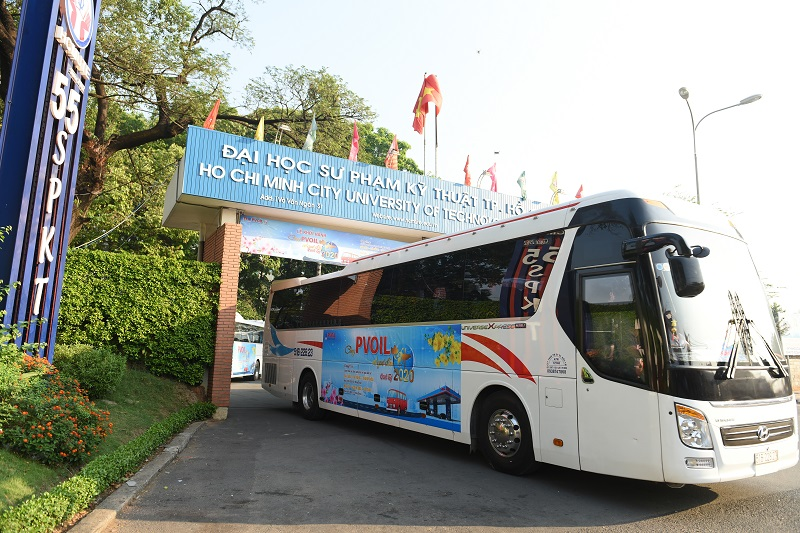 PVOIL supports over 1,300 students returning home to celebrate Tet