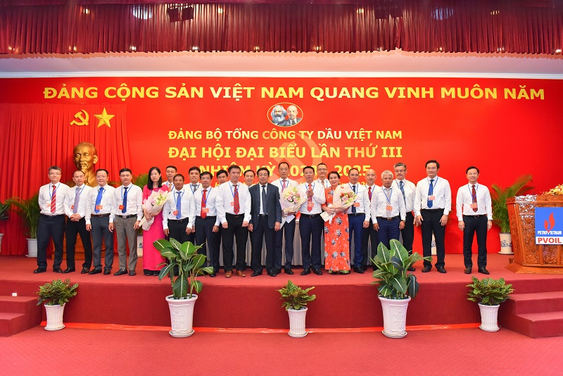 Party Committee of PetroVietnam Oil Corporation successfully organizes 3rd Party congress term 2020 - 2025
