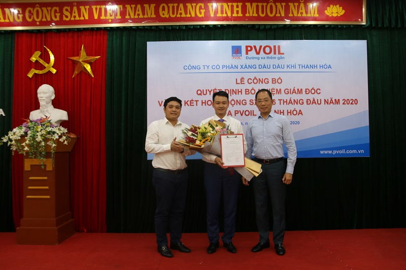 PVOIL Thanh Hoa has new director
