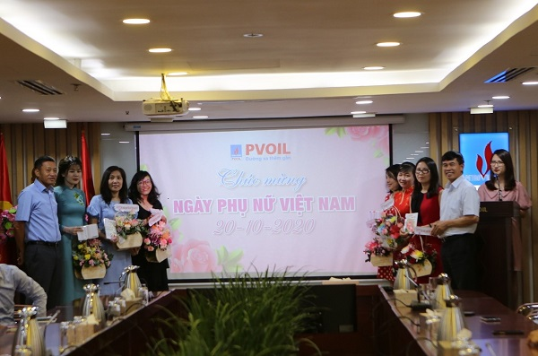 PVOIL leaders celebrate Vietnam Women's Day